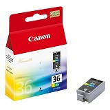 CANON Color Ink Cartridge [CLI36] - Tinta Printer Canon